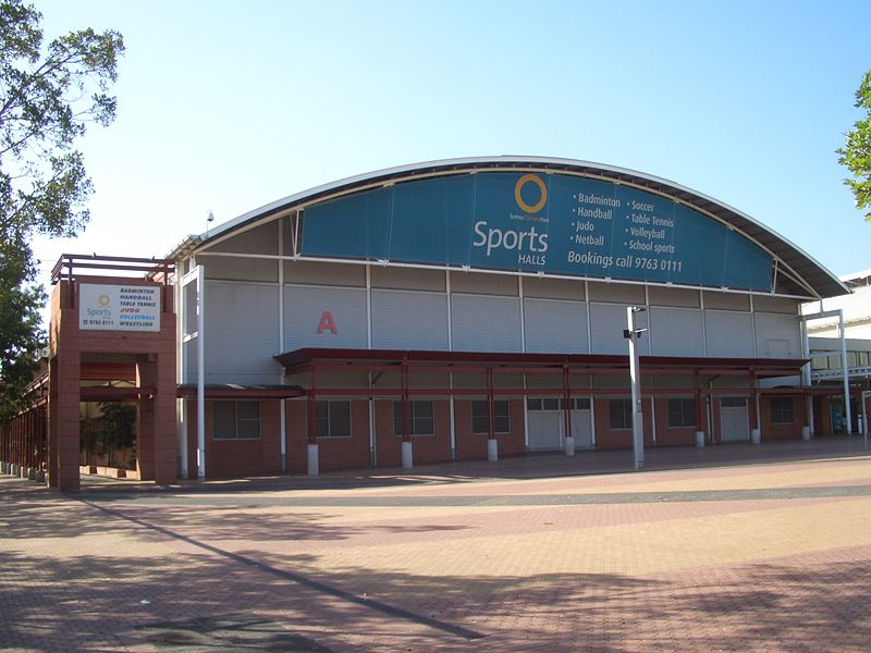 At Sydney Olympic Park Homebush Bay The Sports Halls Bottom Are Used For Sporting Events And Exhibitions By Royal Agricultural