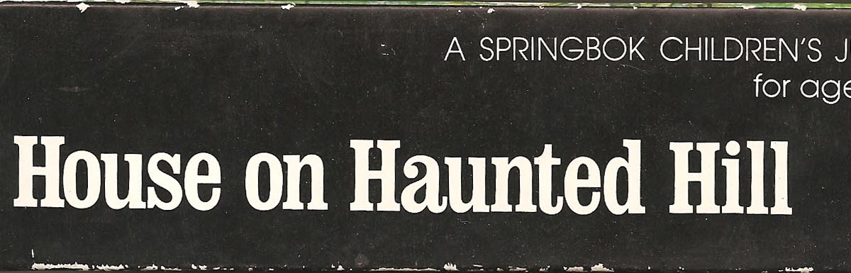 The Haunted Closet: House On Haunted Hill Puzzle (Springbok