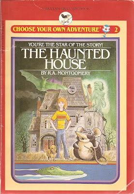Personalised choose your own adventure book