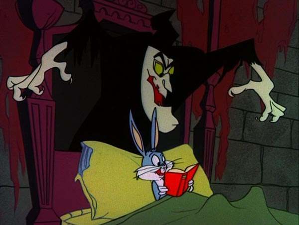 bugs bunny goes trick or treating as a witch but when he comes across witch hazels haunted house antics ensue meanwhile other looney tunes characters