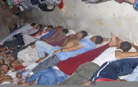 هكذا ينام السجناء في رومية