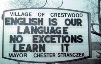 menos mal que es su lengua, porque si no...