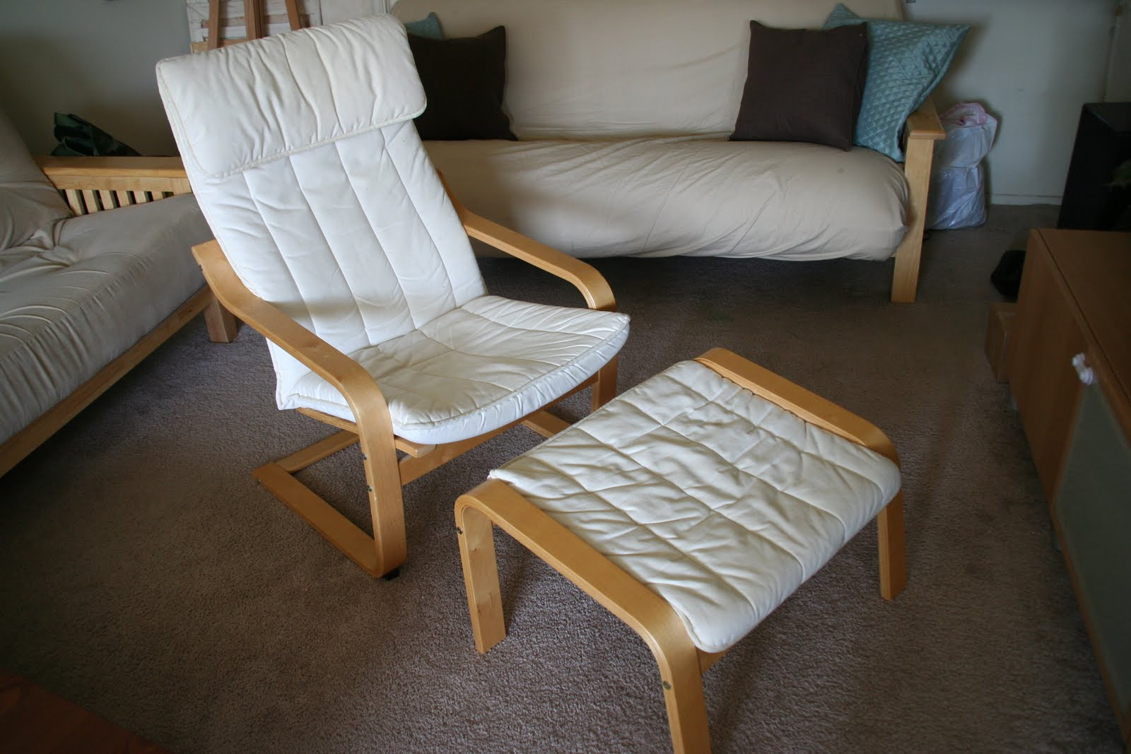 Ikea Poang Chair Review Fabric Oak Dining Chairs Cuir Fabulous Before Our First Baby Was Born