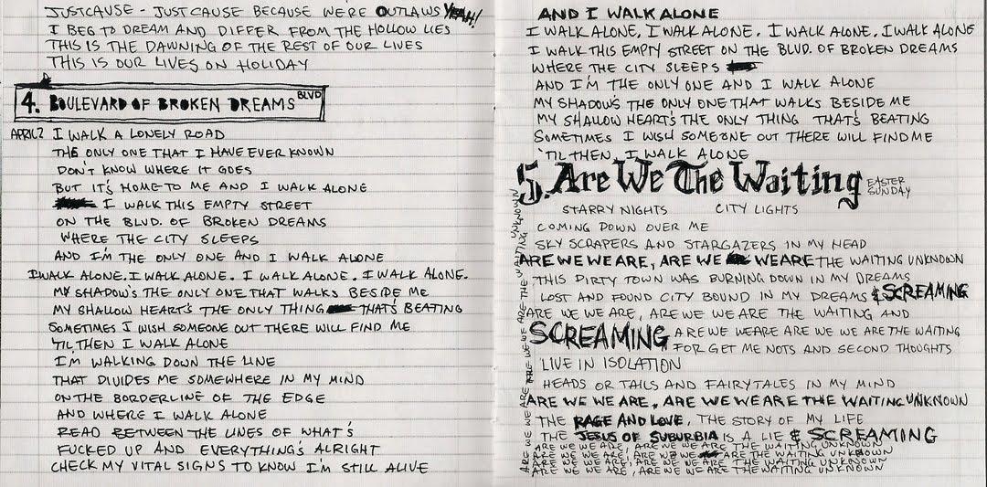 Encartes Pop: Encarte: Green Day - American Idiot