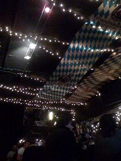 view of lights on the ceiling of Gestalt on 16th Street, San Francisco