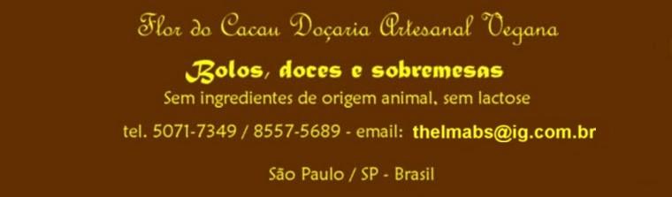Flor do Cacau Doçaria Artesanal Vegana