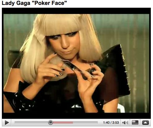 lady gaga poker face lyrics español