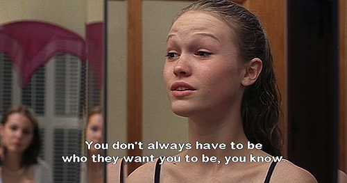 Movies Love Quotes 10 Things I Hate About You: It's Time To Get Over How Fragile You Are: Quote Of The