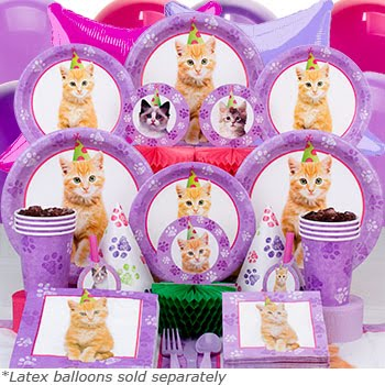 Catsparella Planning Your Dream Cat Birthday Party