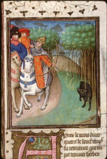 La Chasse Au Moyen Age : chasse, moyen, L'aventure, Livre:, Chasse, Moyen-Âge