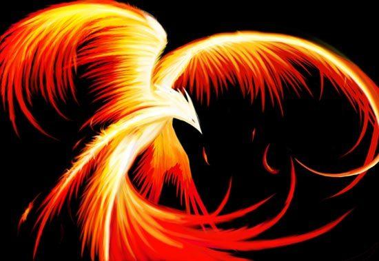 Fantasia Phoenix Sang Burung Api