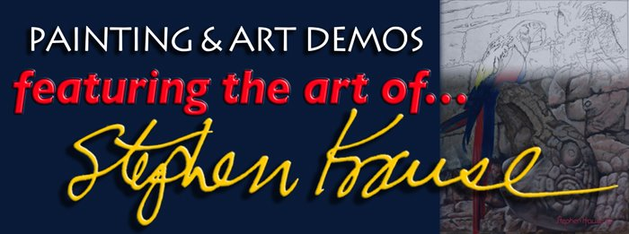 Painting and Art Demos