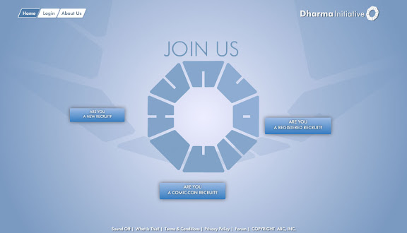 Dharma Wants You Site NOW OPEN!