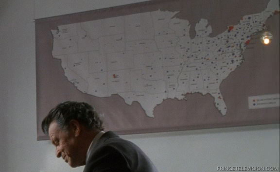 United States Of Fringe Map From Over There Fringe Television