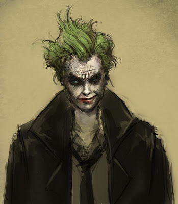 How To Draw Joker From Batman The Dark Knight Step By Step