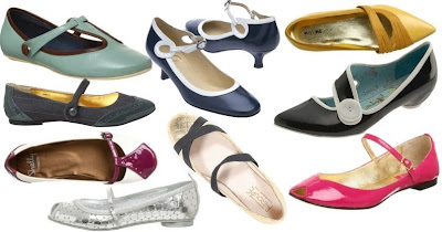 Black Patent Peeptoe Court Shoes