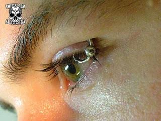 Eyelid Piercing piercings