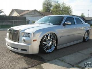 Chrysler 300 rolls royce conversion kit