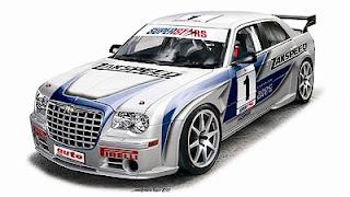 Chrysler 300c Racing Chrysler 300c Srt 8
