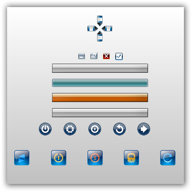 botones para autoplay media studio