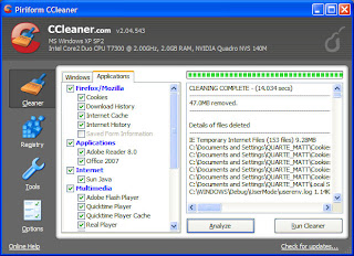 CCleaner Screenshot After Scan