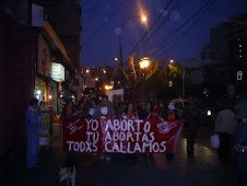 Acción Dia despenalización del Aborto