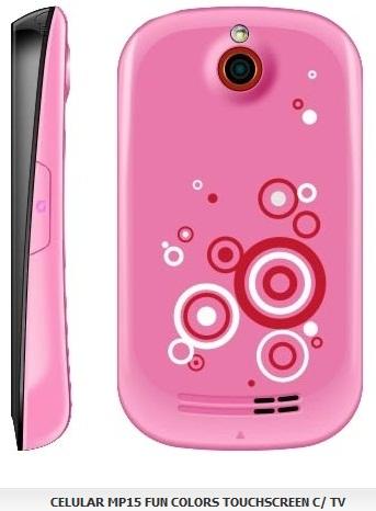 Celular MP15 Fun Colors