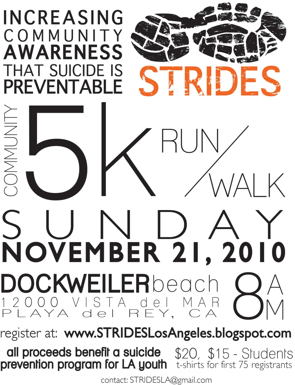 STRIDES: STRIDES 5k Run/Walk