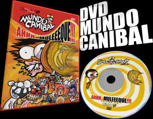 dvd do mundo canibal para