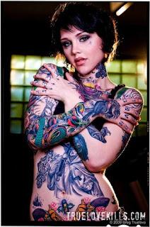 Japanese full body tattoo sexy women
