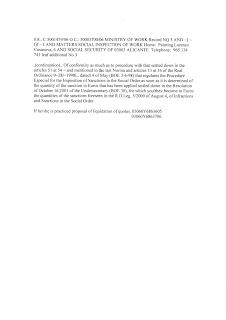 Mi Sol Park Torrevieja Spain Social Security Demand