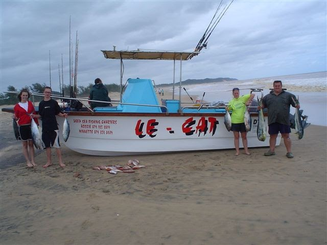 Fishing report south africa le cat deep sea fishing for Deep sea fishing st lucia