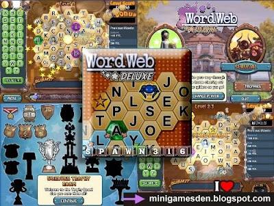 Mini Games Den: Word Web Deluxe