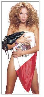 Fotos Paulina Rubio Desnuda Bandera Mexico Enigmas Press