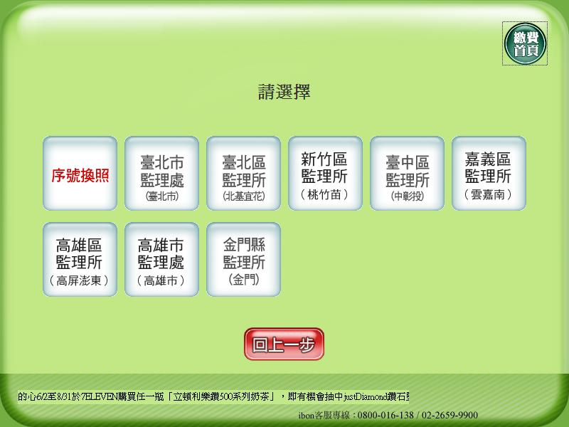 ibon 便利生活站: 利用ibon換發行照駕照