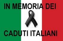 In memoria di coloro che hanno fato la vita per portare democrazie e pace. Ieri e oggi.