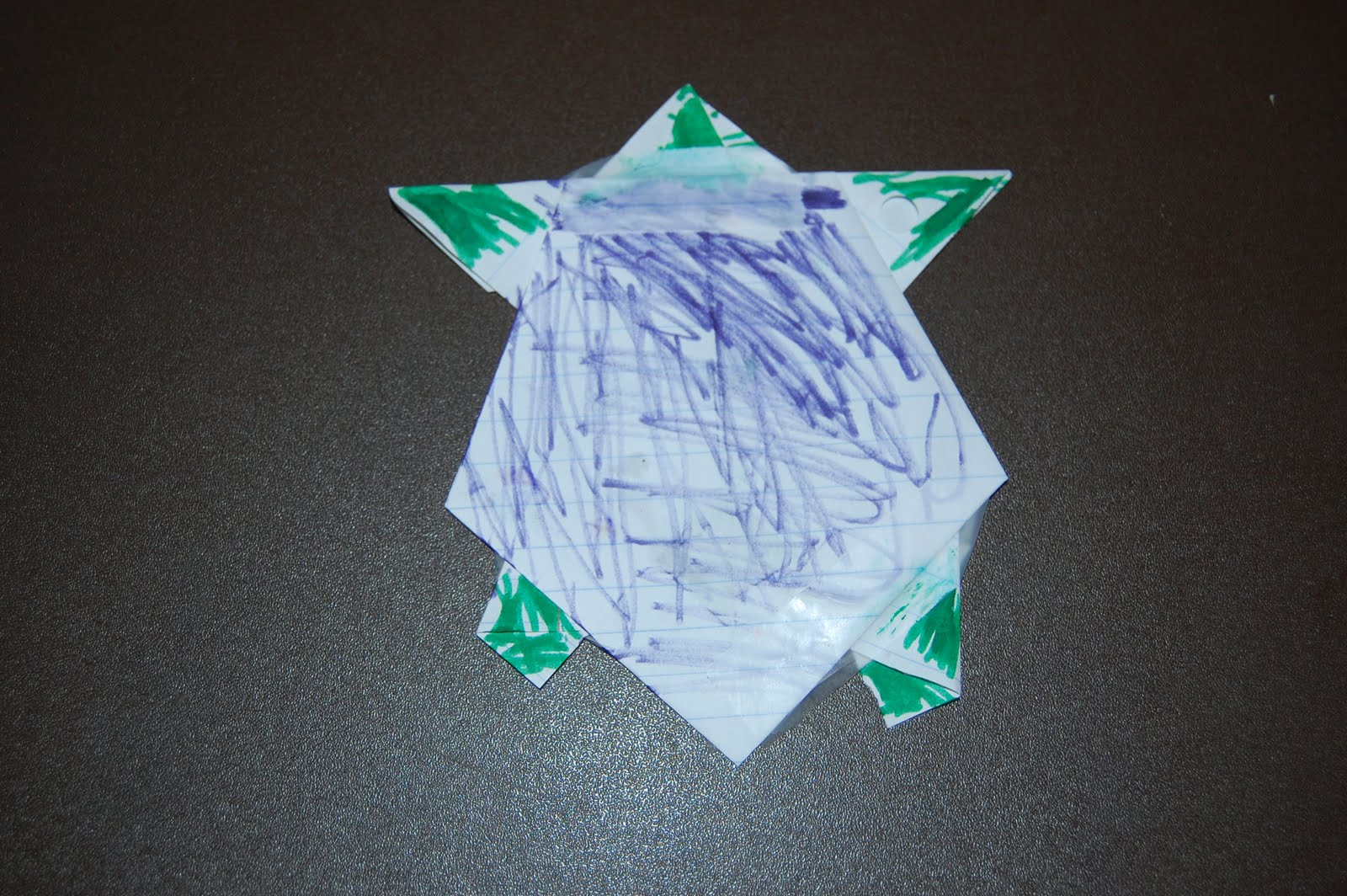 Quick Craft For Boys: Origami Turtles | From The Land of ... - photo#14
