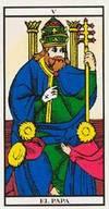 El Papa - Tarot