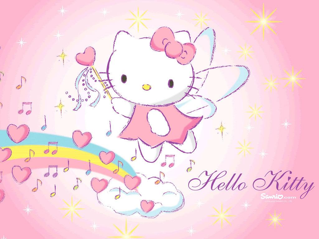 Hello Kitty Wallpaper Dekstop USELLA