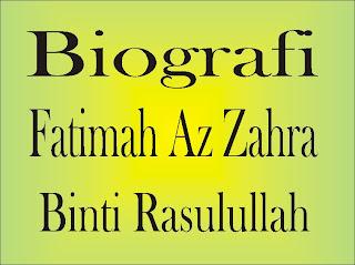 Hasil gambar untuk fatimah az zahrah