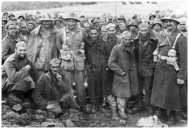 Germany Italian 1943 Pows
