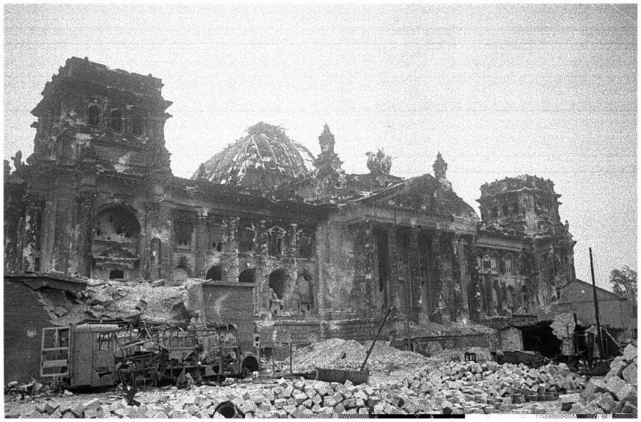 Berlin, June 1945: View from Pariser Platz toward the ...  |Berlin Germany After Wwii