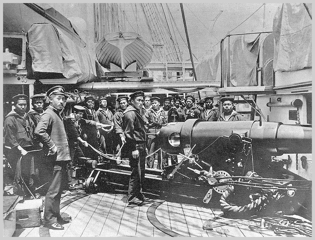 russo japanese war Revaluation of the japanese historical materials - identifying the problems  during the russo-japanese war, collaboration against their common enemy was.