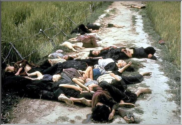 dead women children massacre