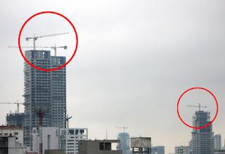 como se arman las gruas de los edificios?