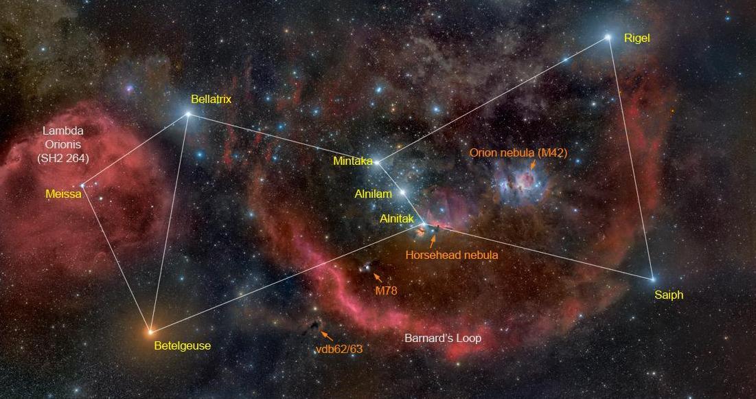 """Resultado de imagem para Nebulosa de Ã""""rion"""