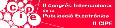 Ir a la web del II Congreso Internacional de la Publicación Electrónica