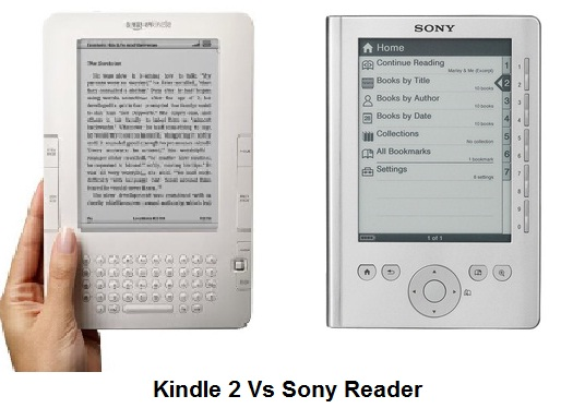 Kindle Vs Sony Reader: Order Kindle For Easy Reading