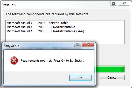 <b>Error</b> <b>1935</b>: <b>Microsoft</b> <b>Visual</b> <b>C</b>++ <b>2008</b> <b>Redistributable</b> Install