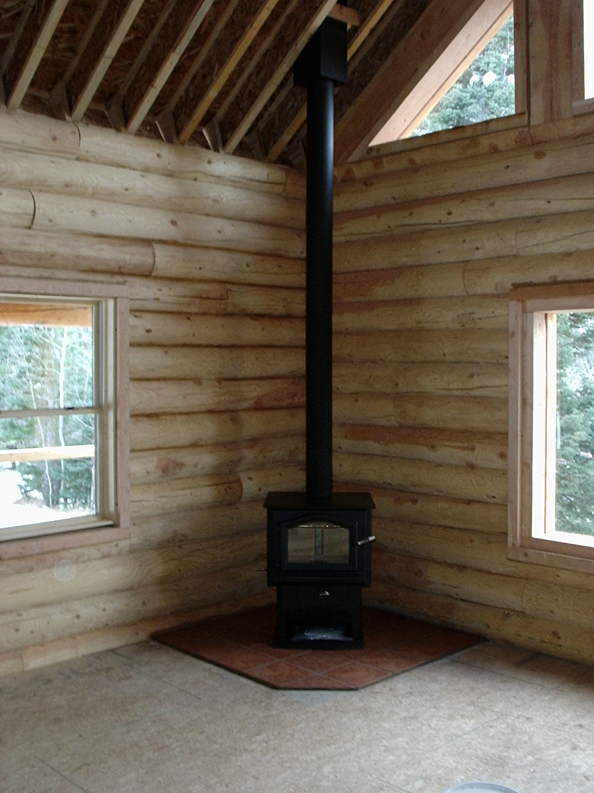 River Run Cabin Cuchara Colorado Christmas Trip Wood